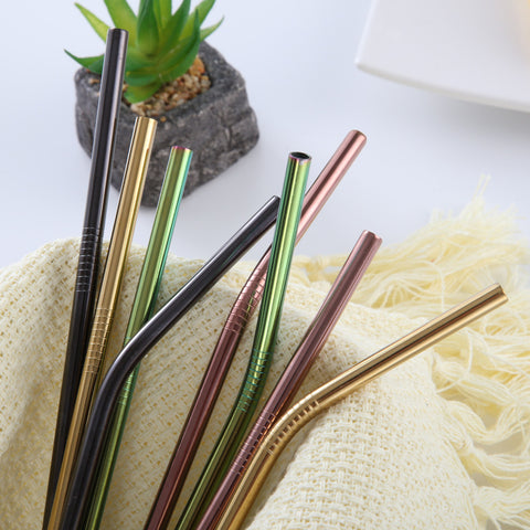 Colorful Reusable Straw for 20 Oz/30 Oz Cups