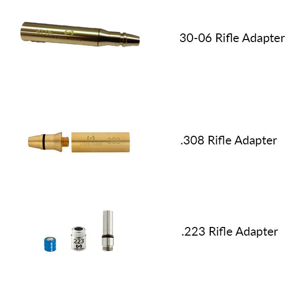 Laser Ammo Caliber Adapter