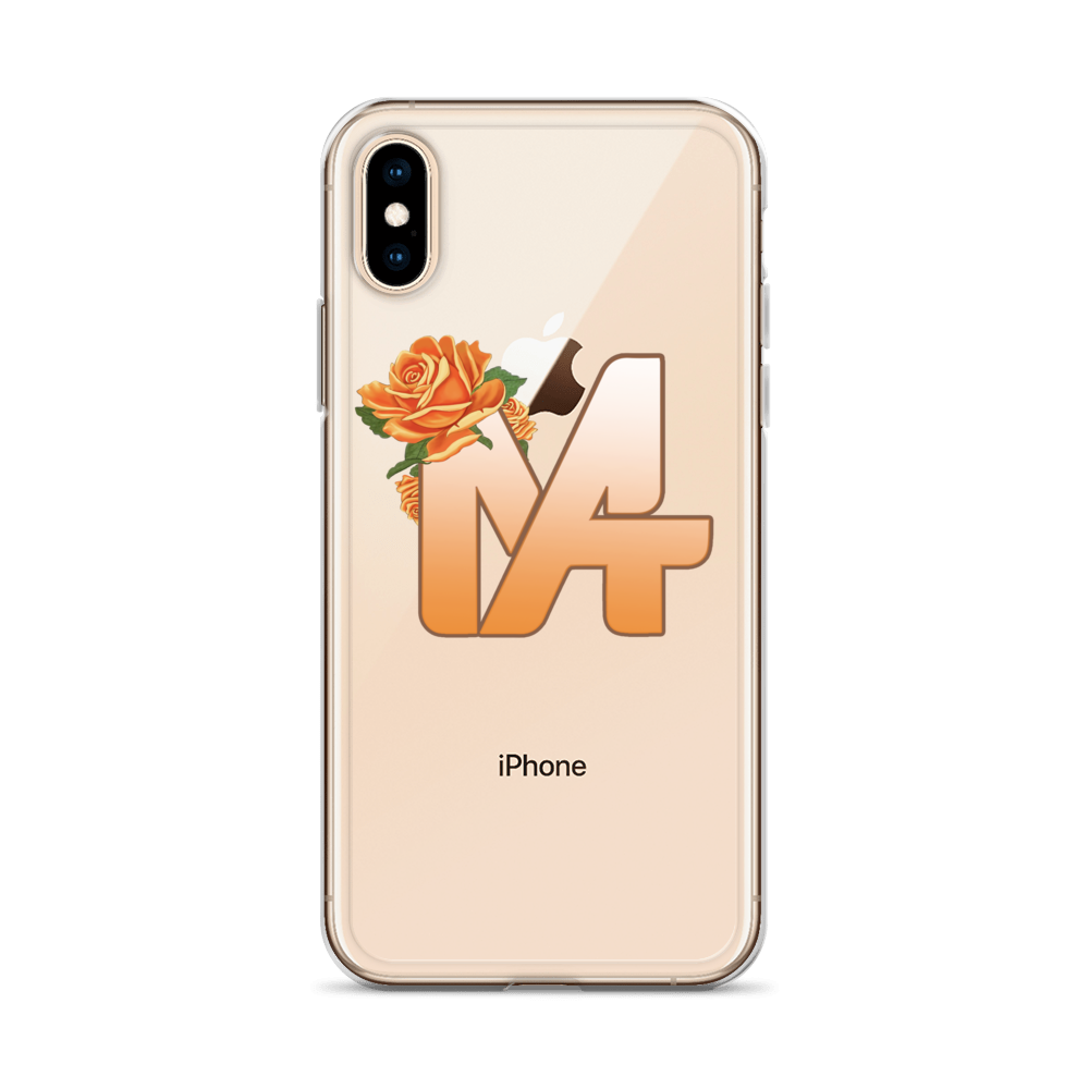 The Gold Rose iPhone Case