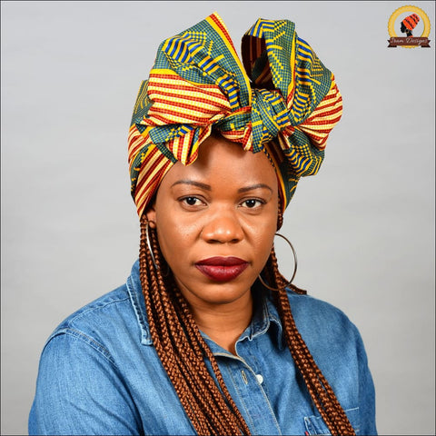 African Fair Kente Head Wrap
