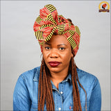 African Kente Head Wrap