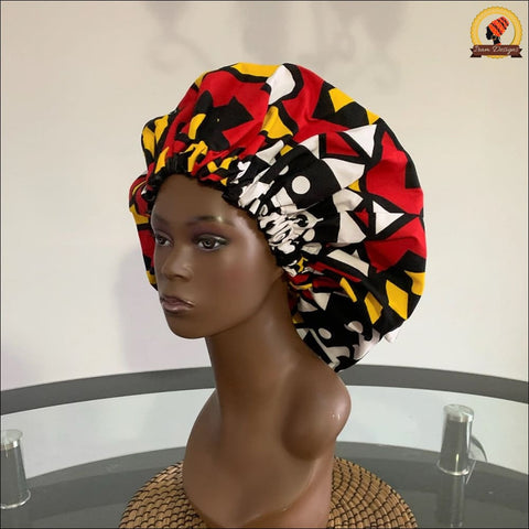 African Samakaka Bonnet double sided