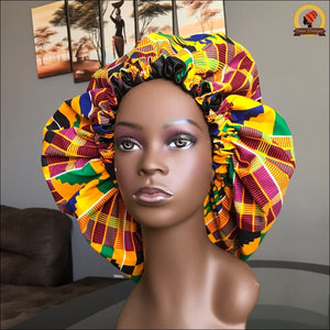 Busy Kente Bonnet