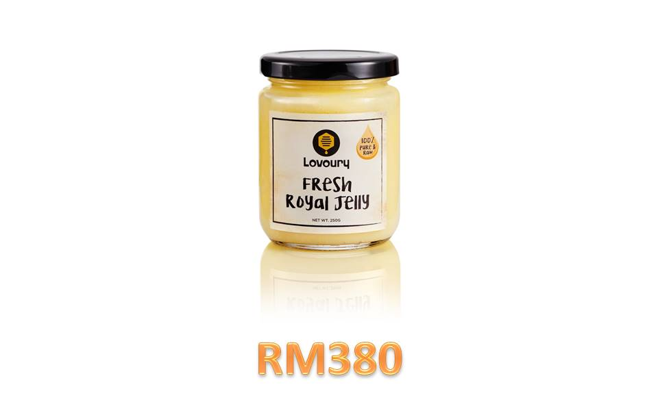 certified 100% pure raw and fresh royal jelly