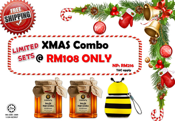 XMAS Combo with Limited Bee Bottle