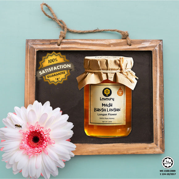 Lovoury Longan Flower Honey @500g