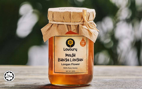 Lovoury Longan Flower Honey