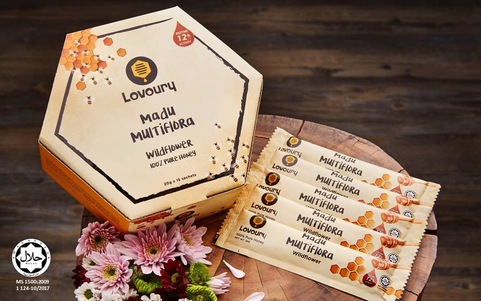 Lovoury Wildflower Honey Sachet Pack