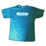 ChickenPoop Tube Design Tee - Blue