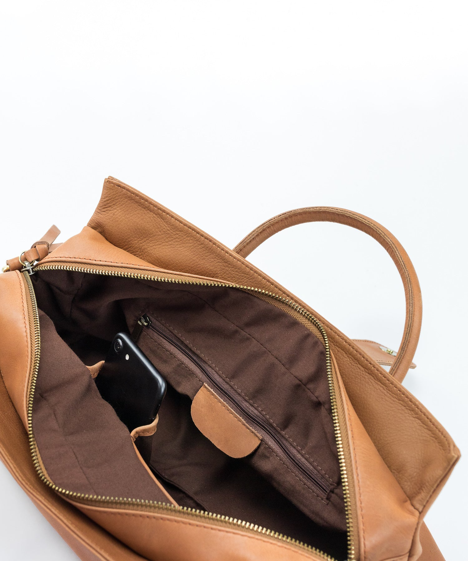 Aether brown Duffel-Style Everyday BagAether blush Duffel-Style Everyday Bag