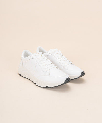 Avery White | Star Platform Sneaker