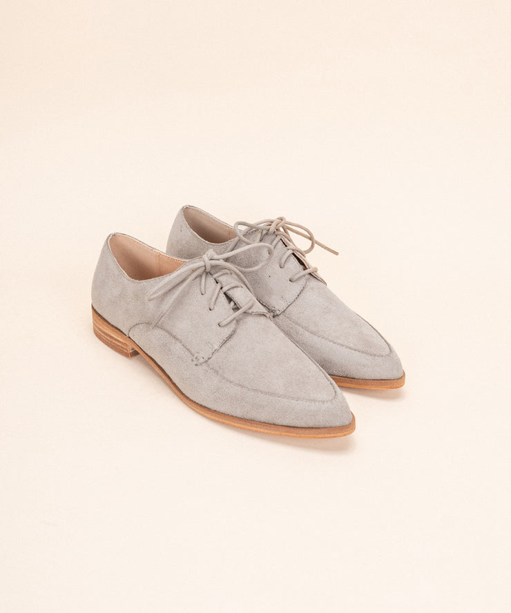Bailey Grey | Suede Loafer