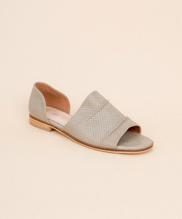Breeze grey Perforated Slip On