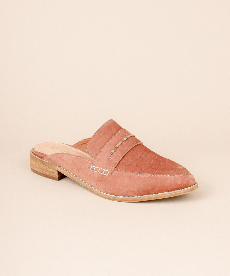 Faroe copper Classic Backless Loafer