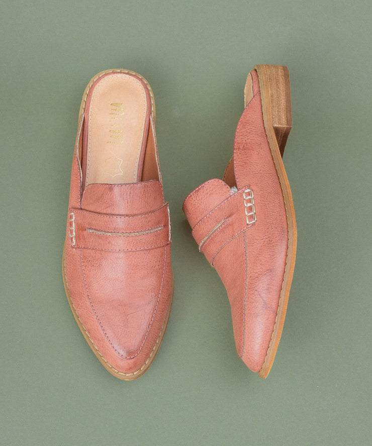 Faroe watermelon Classic Backless Loafer