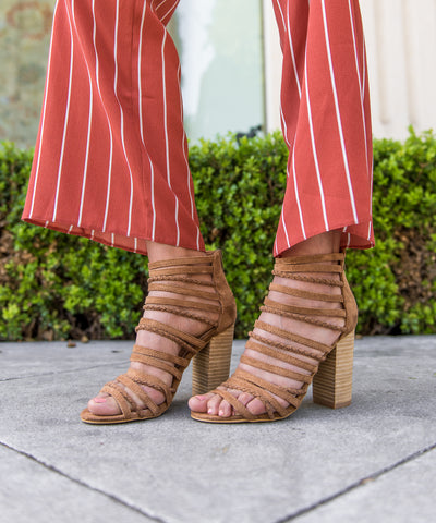 The Clara | Boho Knotted Heel