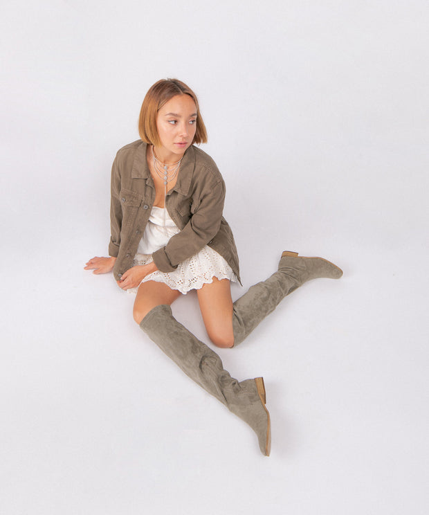 The Gwen | Over The Knee Boot