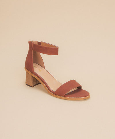 IIA Brown | One Band Low Heel