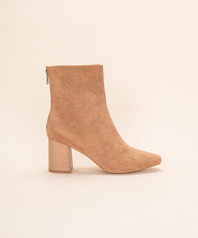 The Lexie | Block Heel Bootie
