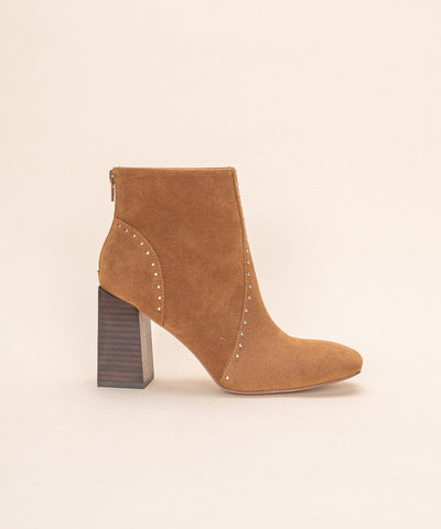 The Lindsey | Studded Modern Bootie