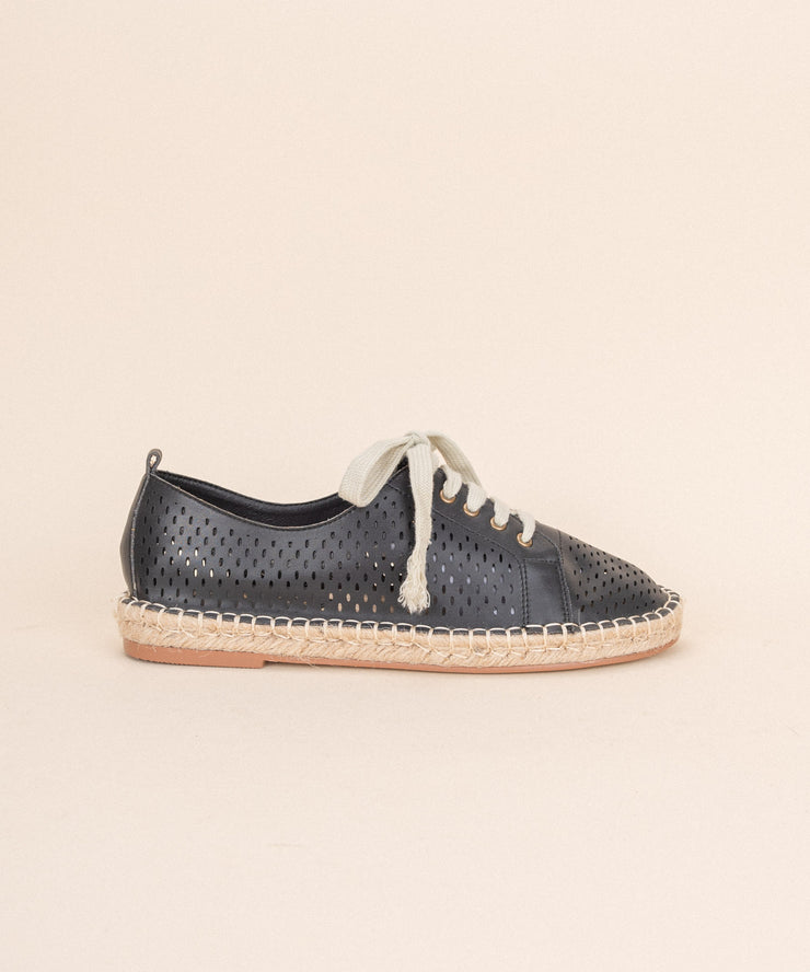 London black Espadrille Sneaker