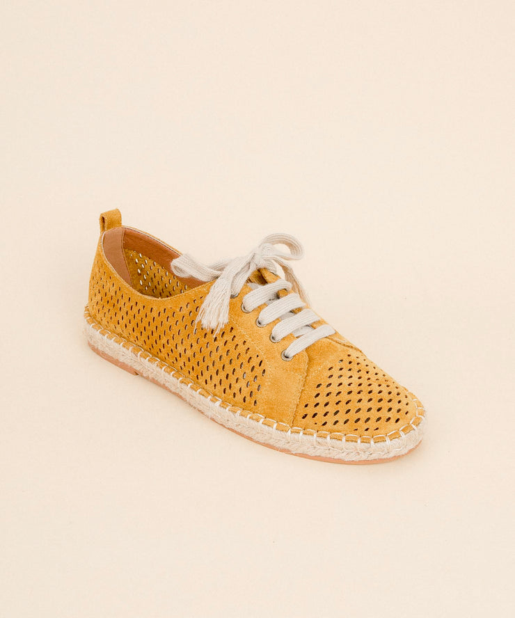 London yellow Espadrille Sneaker