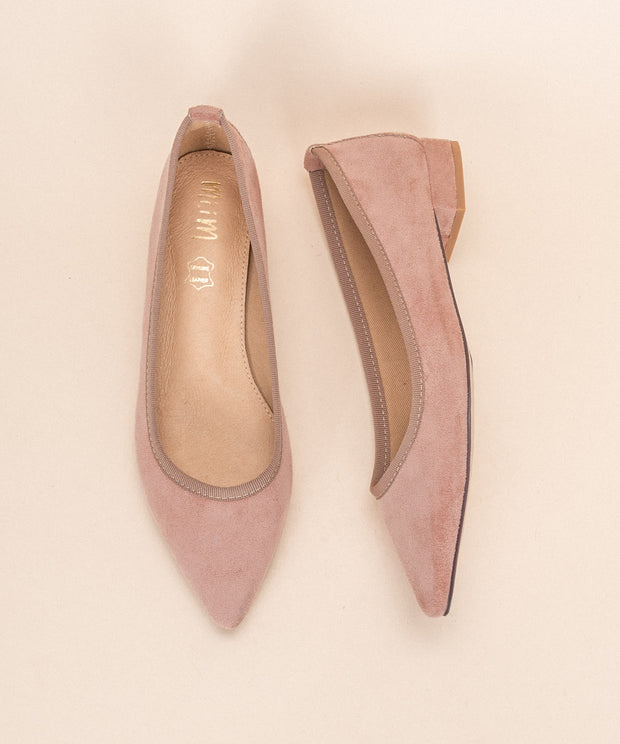 The Luna | Pointed Ballet-Style Flat - FINAL SALE