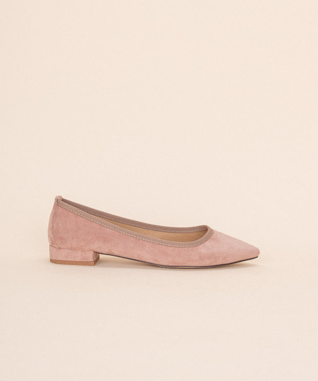 Luna rose Pointed Ballet-Style Flat