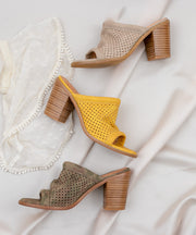 Meadow Funky Perforated Wedge