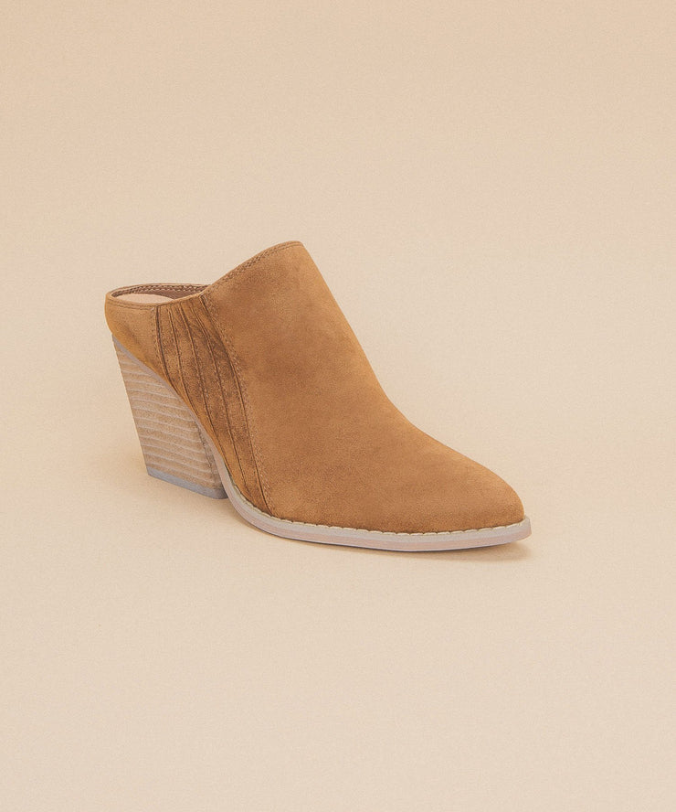 Megan | Wedge Heels - Camel