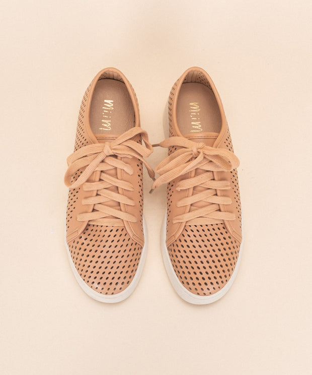 Milo brick Perforated Sneaker