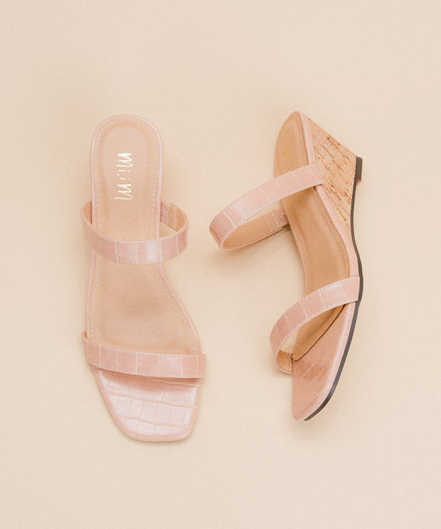 Nate Rose | Double Strap Wedge Sandal