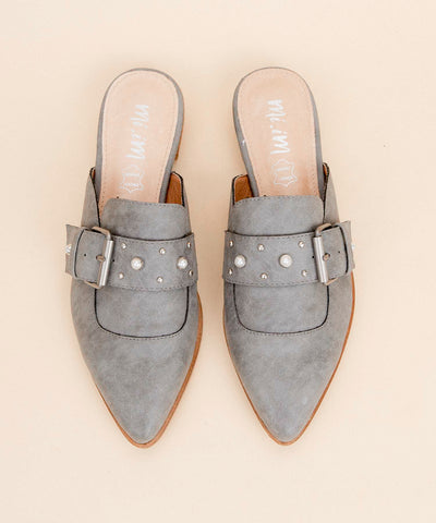 The Nile | Faux-Pearl Embellished Flat - FINAL SALE