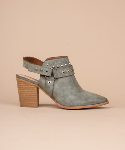 The Philomena | Studded Boho Bootie - FINAL SALE