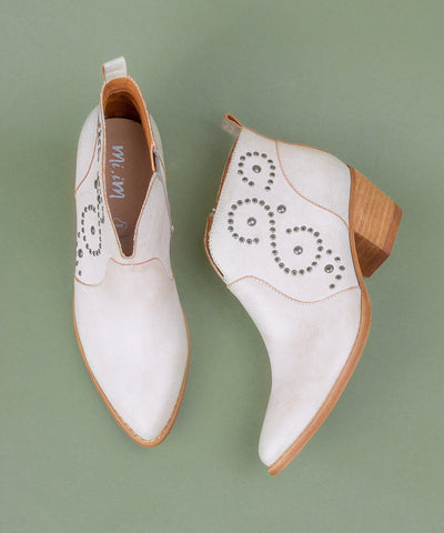 The Bethany | Modern Mocassin Booties
