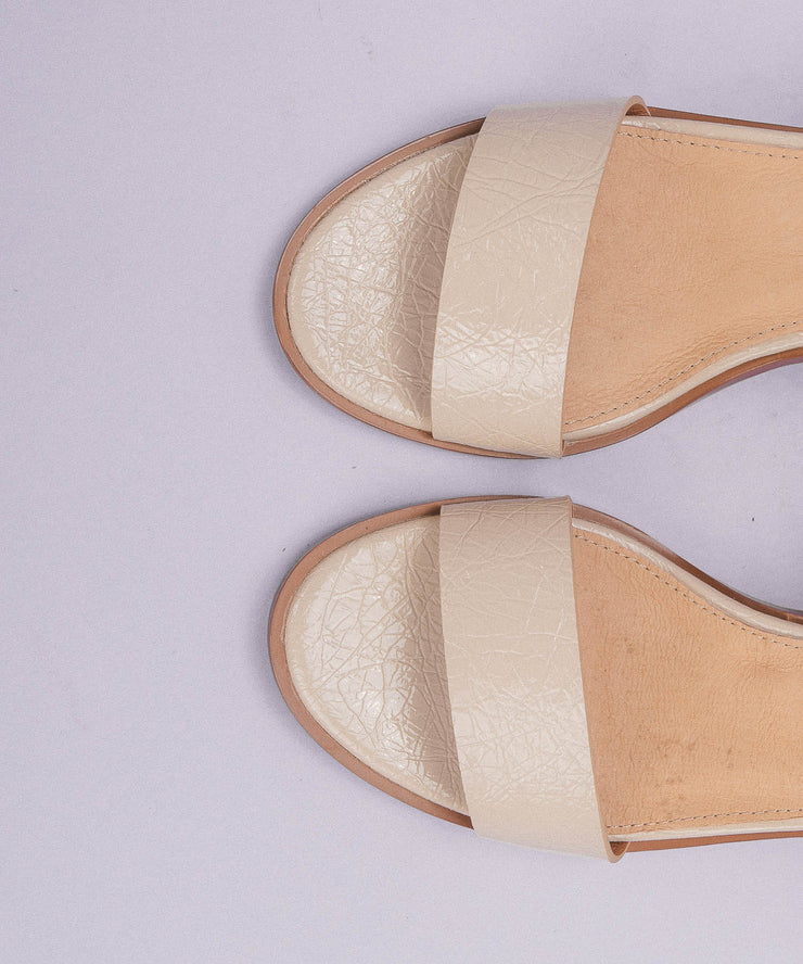 The Renee | One-Band Cork Heel