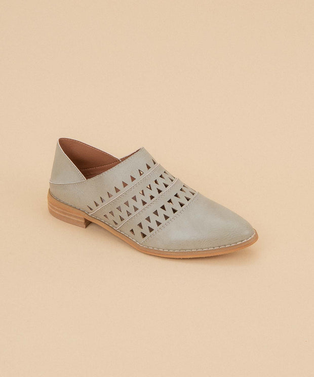Stella grey Convertible Loafer-To-Mule