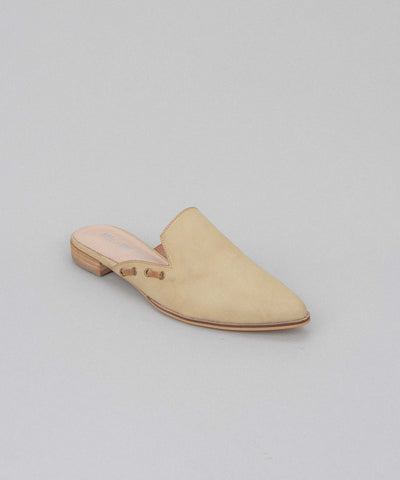 Taylor lemon Simple Pointed Mules