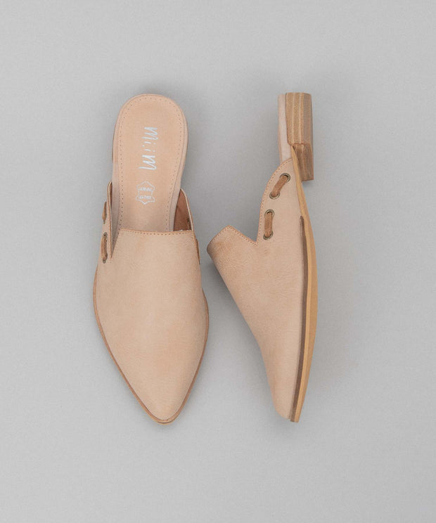 Taylor rose Simple Pointed Mules