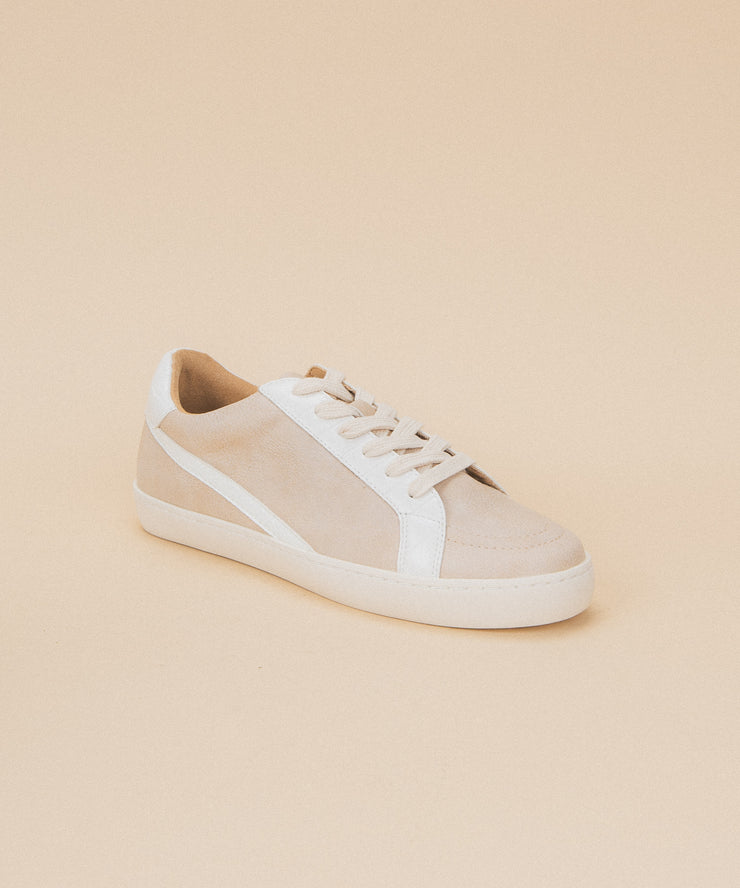 Bella rose Low Top Street Sneaker - Rose