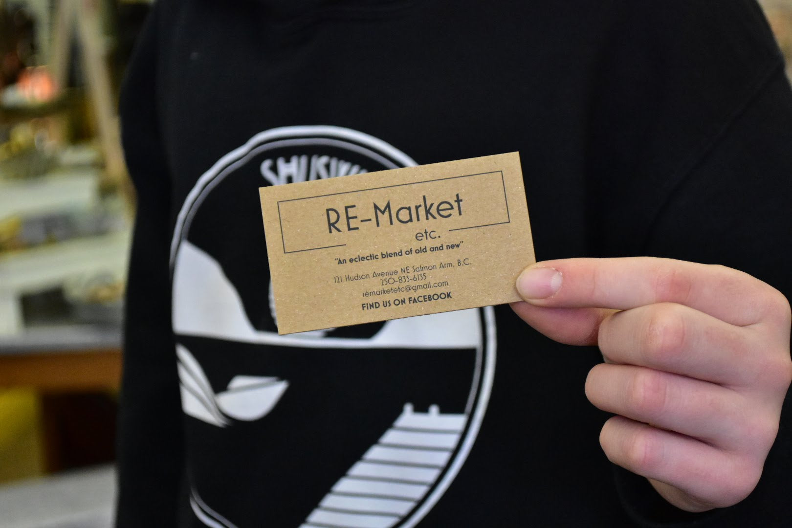 We're excited to partner with RE Market in Salmon Arm