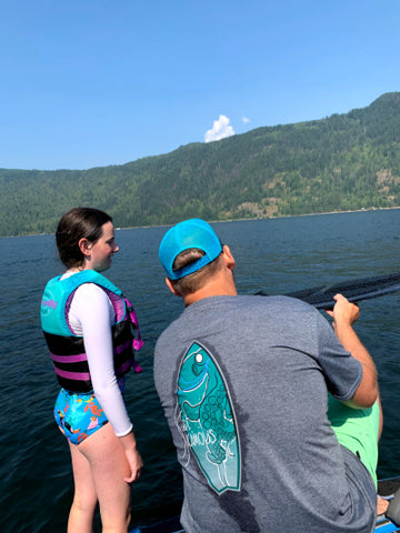 Wake Surf Lessons with Surf Sicamous