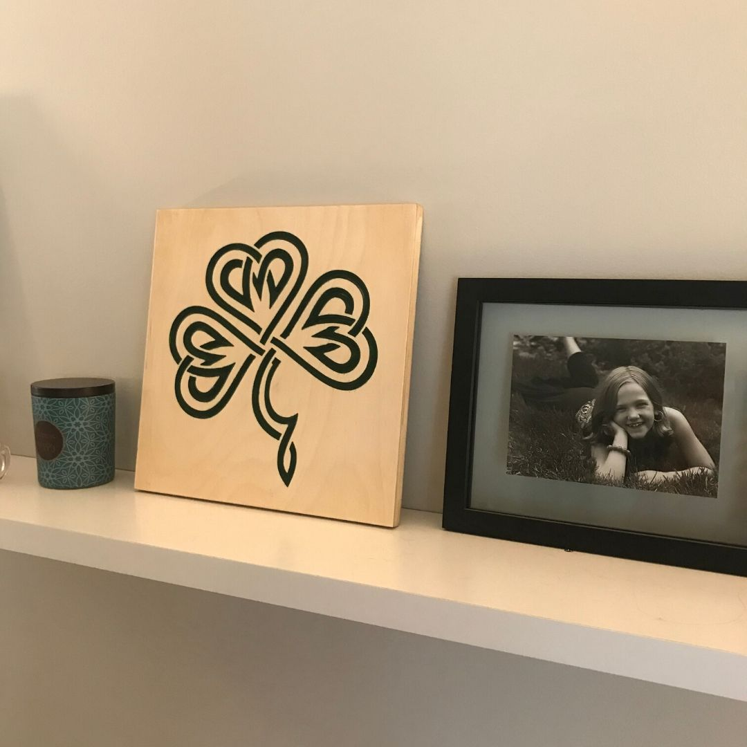 Celtic Shamrock | DIY Sign