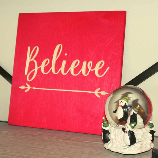Believe_Wood_Signs_Christmas_Decorations_Shelf_black