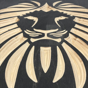 Lion | Wood Wall Art