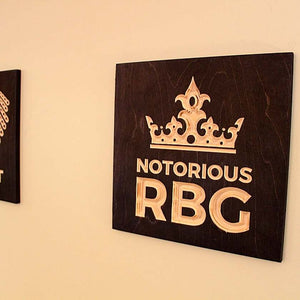 Notorious-RBG-Crown-Wood-Signs-hanging