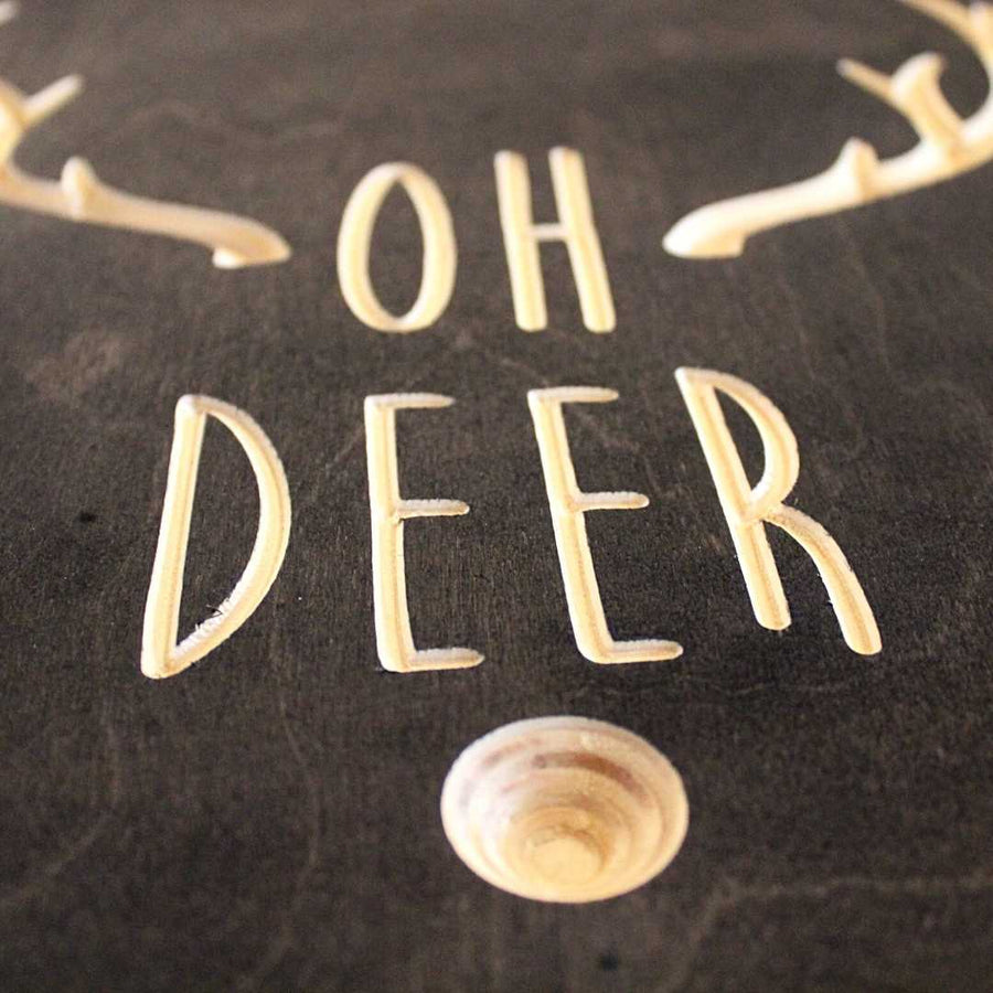 Oh_Deer_Wood_Sign