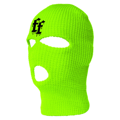 WATCH YOUR B**TCH SKI MASK - GREEN