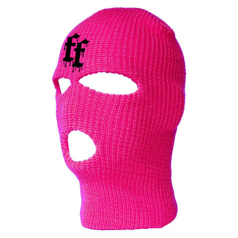 WATCH YOUR B**TCH SKI MASK - PINK