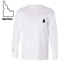 Northwest Tree Long Sleeve Pocket Tee Idaho Edition